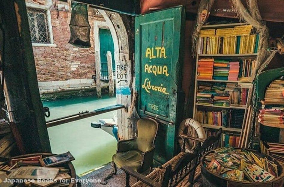 """Libreria Acqua Alta, the """"waterproof"""" bookstore"""